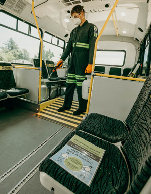 Safety Measures taken by Yamhill County Transit Area