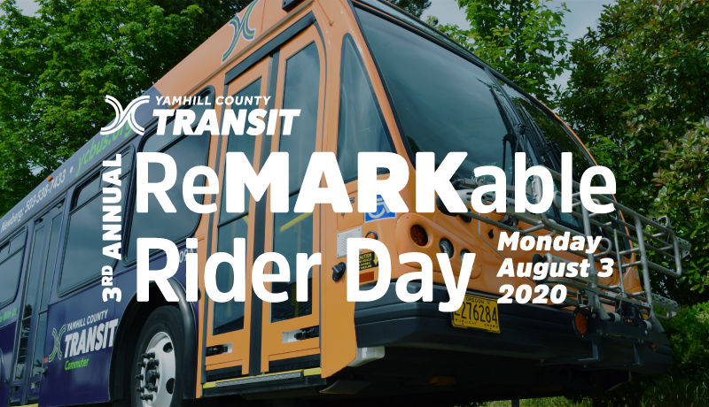 reMARKable Rider Day • Monday, August 3, 2020