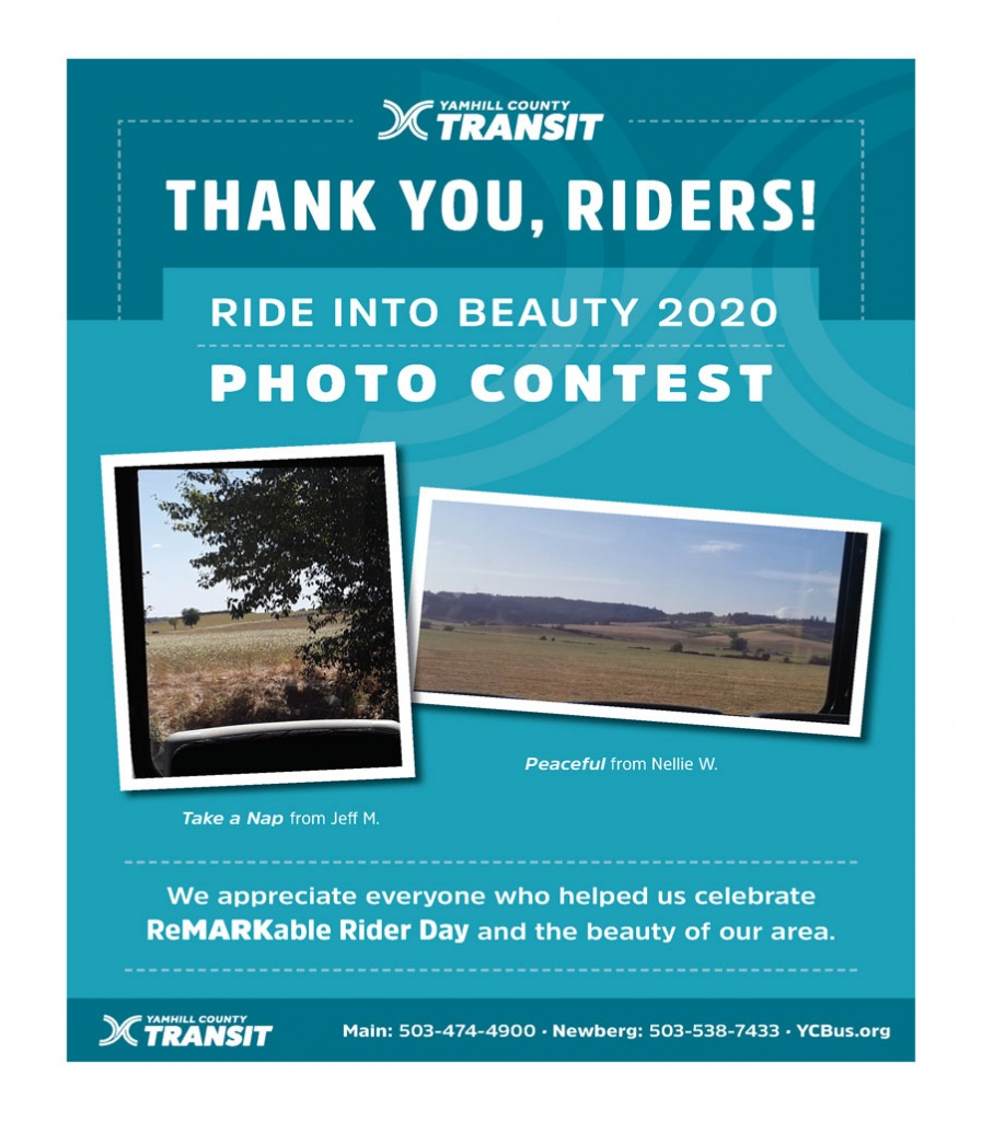 Thank you, riders! Ride Into Beauty Photo Contest